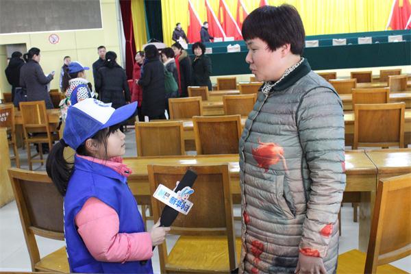 新华小记者应邀参加西峡县政协委员视察县重点工程