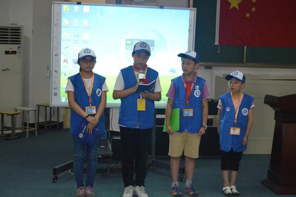 新华小记者面试工作在郑州市中原区帝湖小学顺利开展