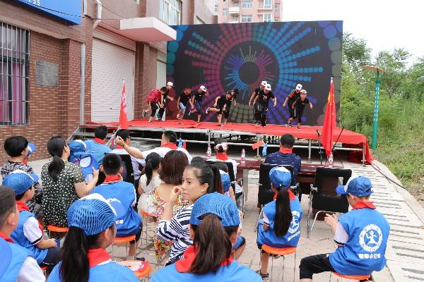 新华小记者平顶山组委会授牌成立