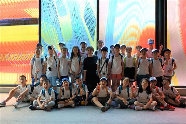 涟漪不止,澄明世界——新华小记者参观上海琉璃博物馆