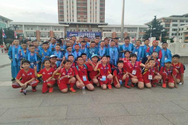 哥德杯中国新华小记者共享足球海洋嘉年华