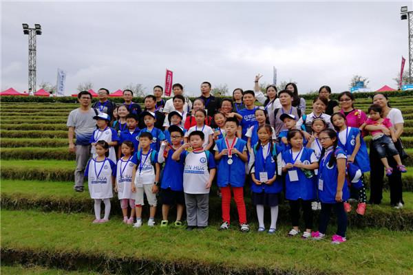 新华小记者走进2018上海国际大众体育节