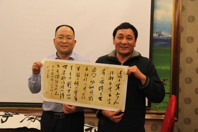 唐北怀先生担任新华小记者顾问