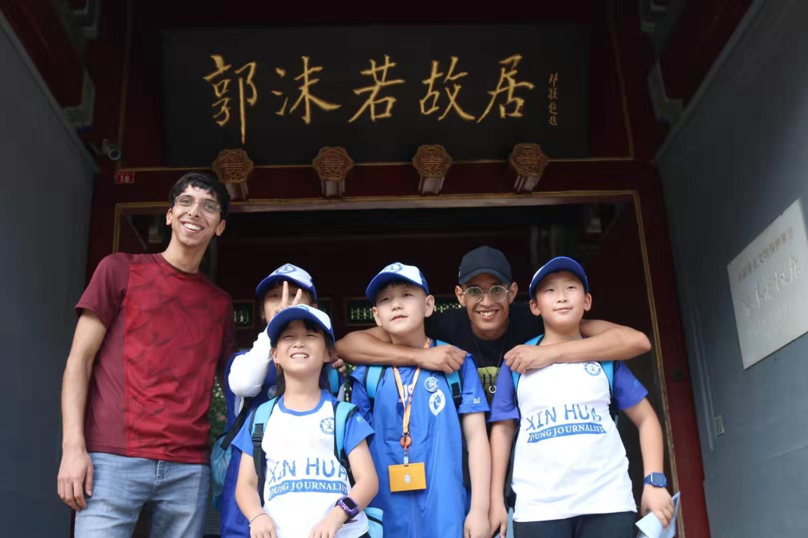 """""""我带老外游中国""""双语小导游活动第一期圆满结束"""